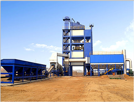 CLB1500 Asphalt Mixing Plant in Philippines