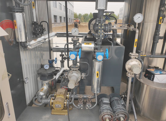 bitumen-decanter-Thermal-Oil-System