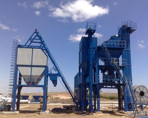 The Electronic Control System of the Asphalt Mixing Plant