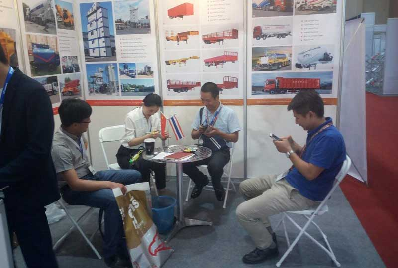Handa Attended Engineering Exhibition in Thailand